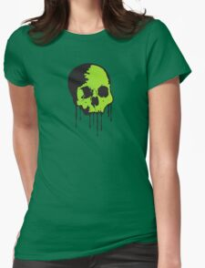 Toxic Death  Womens Fitted T-Shirt