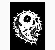 Black/White Skull Unisex T-Shirt