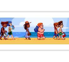 Mystery Beach Babes Sticker