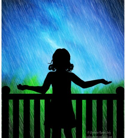Wish Upon The Rain Sticker