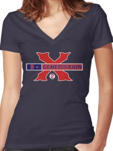 "Xander Bogaerts ""B-Generation X"" Women's Fitted V-Neck T-Shirt"