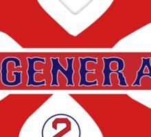"Xander Bogaerts ""B-Generation X"" Sticker"