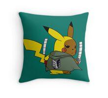 Shingeki No Thunder Throw Pillow