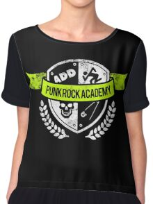 Punk Rock Academy Chiffon Top