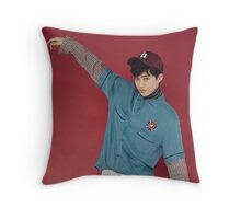 lucky one suho exo Throw Pillow