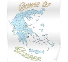 Come to Greece Poster