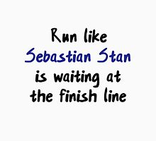 Run like Sebastian Stan is the finish line! Women's Tank Top