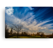 Keep Watching The Sky Canvas Print