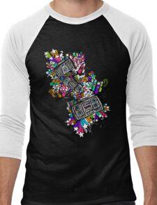 Blaster Shaz Men's Baseball ¾ T-Shirt