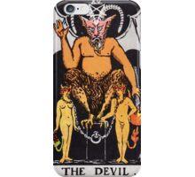The Devil iPhone Case/Skin