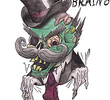 Eating Brains like a Sir by HarWalt
