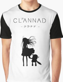 CLANNAD - Girl & Robot Graphic T-Shirt