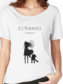 CLANNAD - Girl & Robot Women's Relaxed Fit T-Shirt