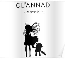 CLANNAD - Girl & Robot Poster