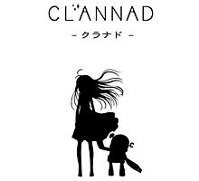 CLANNAD - Girl & Robot Photographic Print