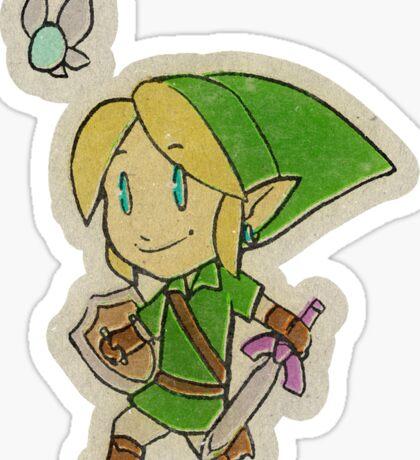 Run Link Run! Sticker