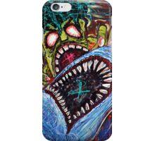 Zombie Shark Fight iPhone Case/Skin