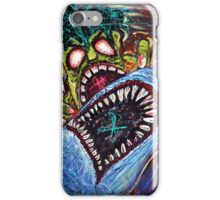 Zombie Shark Fight iPhone Case/Skin