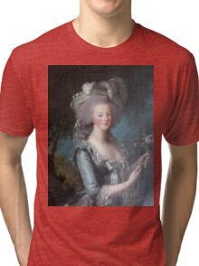Marie Antoinette, Queen of France Tri-blend T-Shirt