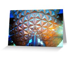 Spaceship Flare Greeting Card