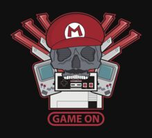 Game On Skull (M) Kids Clothes