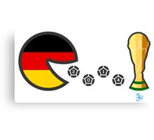 Germany World Cup 2014 Canvas Print