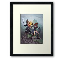Skyrim: taming the wild Framed Print