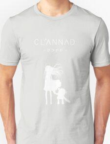 CLANNAD - Girl & Robot (White Edition) Unisex T-Shirt