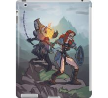 Skyrim: taming the wild iPad Case/Skin