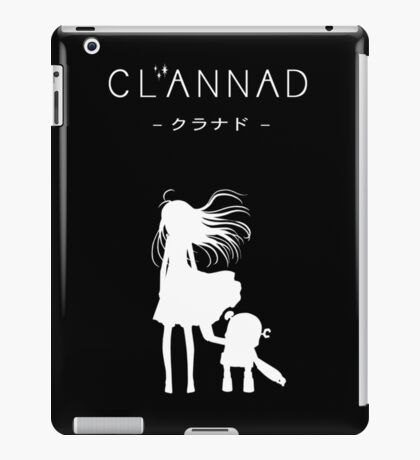CLANNAD - Girl & Robot (White Edition) iPad Case/Skin
