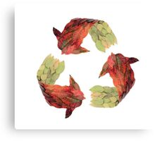 Recycle Canvas Print