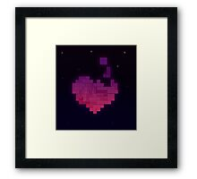 Love's a Game (Sticker) Framed Print