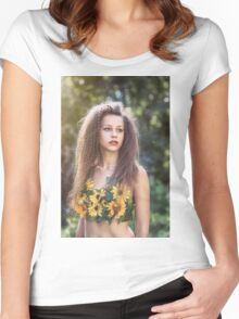 Vittoria Women's Fitted Scoop T-Shirt