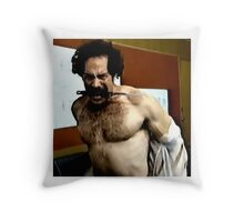 Knife Mouth Throw Pillow