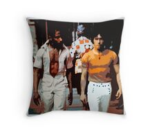 Bad dudes Throw Pillow