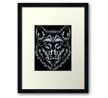WOLF MASTER Framed Print