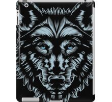 WOLF MASTER iPad Case/Skin