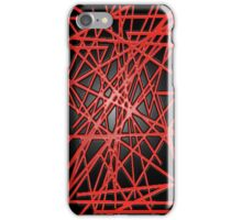 Abstract Phone Case (Red) iPhone Case/Skin