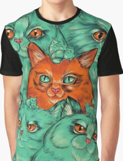 Kitty Madness Graphic T-Shirt
