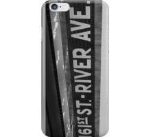 161st Street - River Ave iPhone Case/Skin