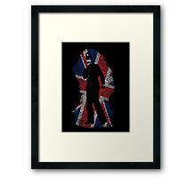 London Beat Framed Print