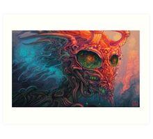 LoveVenom Devil Dragon Art Print