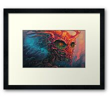 LoveVenom Devil Dragon Framed Print