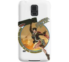 Bomber Dear - Putting Warheads on Axis Foreheads Samsung Galaxy Case/Skin