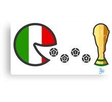 Italy World Cup 2014 Canvas Print