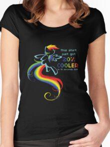 Just Got 20% Cooler Women's Fitted Scoop T-Shirt