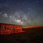 New Mexico Barn by B Spencer