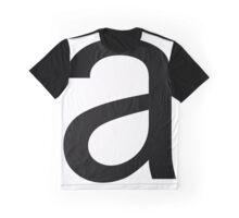 a - black Graphic T-Shirt