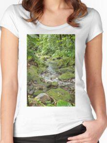 Rainforest Women's Fitted Scoop T-Shirt
