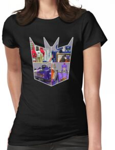 TRANSFORMERS FIGURES!!! G1 Decepticon Logo  Womens Fitted T-Shirt